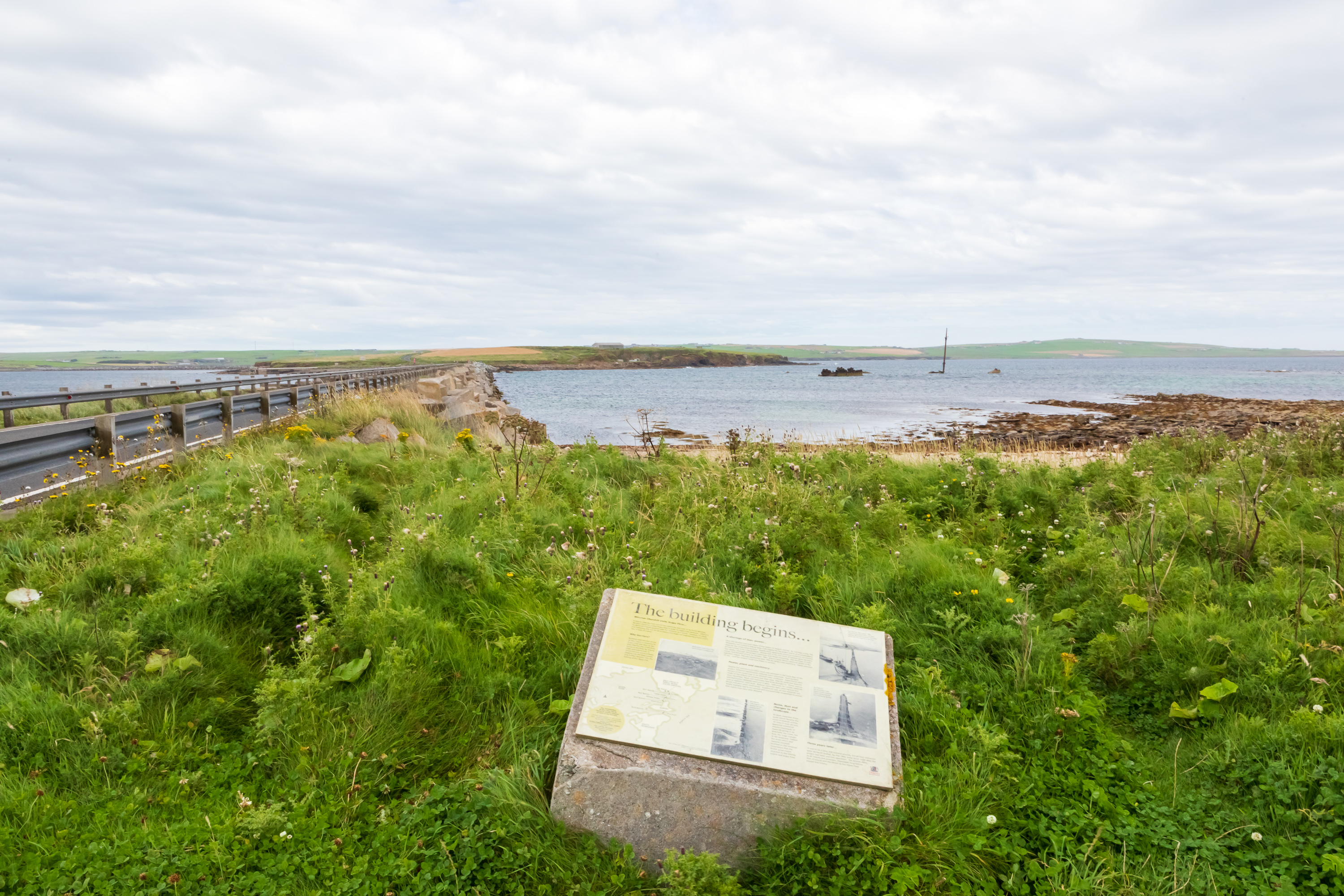 Camps 34 & 60 Orkney - Information Board